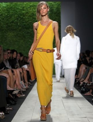 Michael Kors, Spring 2012: yellow is in!