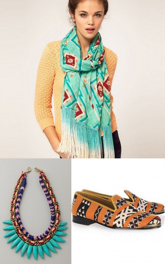 Tribal with a Gypsy flair