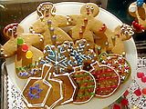 Great gingerbread recipe by Gale Gand: Gingerbread Ev, Gingerbread Cookies, Cookies Recipes, Ornaments Recipes, Gingerbread People, Gingerbread But, Gingerbread Creations, Cookies Projects, Gingerbread Recipes