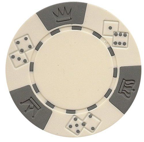 Da Vinci 50 Clay Composite Triple Crown 11.5-Gram Poker Chips (White) by Da Vinci. $4.79. Please choose from chip color options above before adding to your shopping cart.  These 11.5 gram Triple Crown poker chips are made of a High Quality Clay Composite Resin with a metal insert for added weight. Each chip is made to specifications and is perfectly balanced to give the proper effect.. Save 52% Off!
