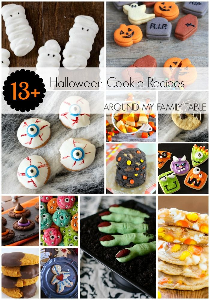 The perfect Halloween Cookie Recipes for your holiday get togethers!