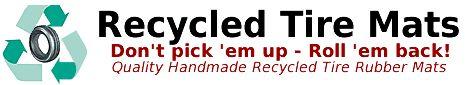 Slightly higher prices.... Matman.... Recycled Tire Mats, Handmade, Door Mats, Doormats, matting, rubber, safety mats