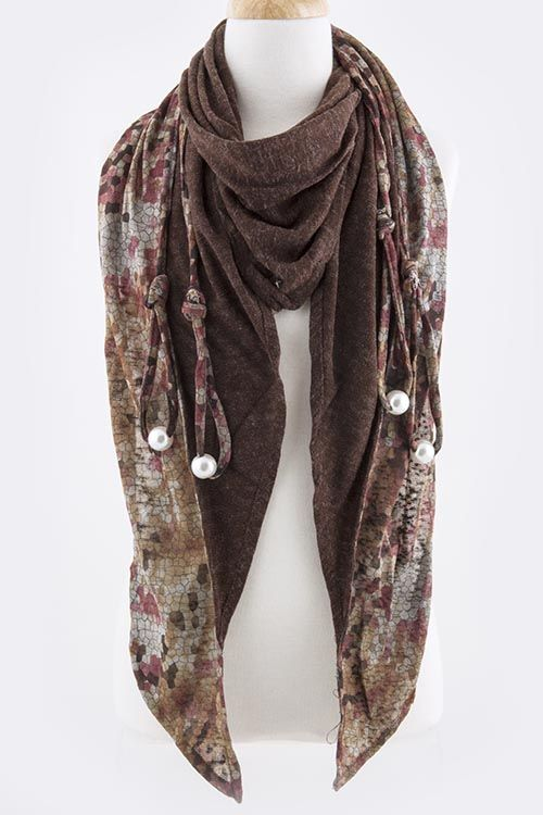 Taylor Scarf in Sepia