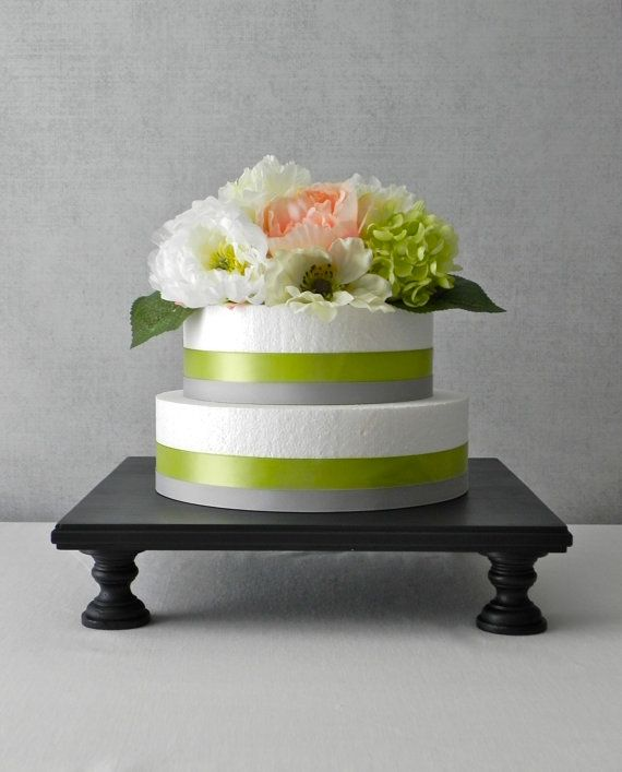 Cake Stand 18 Cupcake Tiered Stand Square by EIsabellaDesigns, $85.00