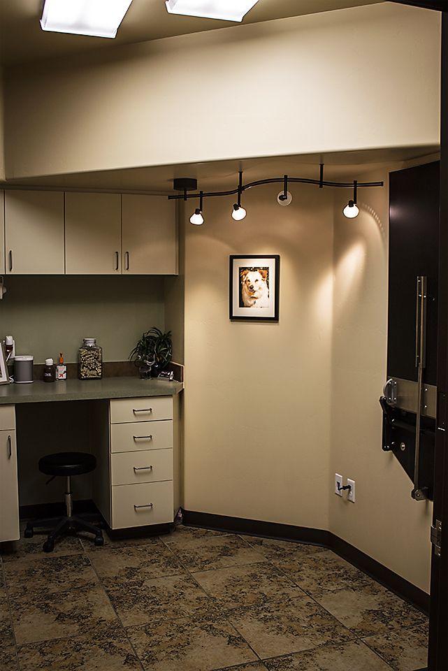 Hospital Emergency Room: Decorative Lighting Changes Atmosphere Of Exam Room
