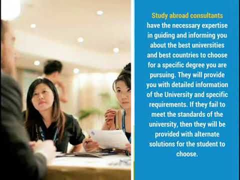 How Helpful are Overseas Education Consultants - YouTube