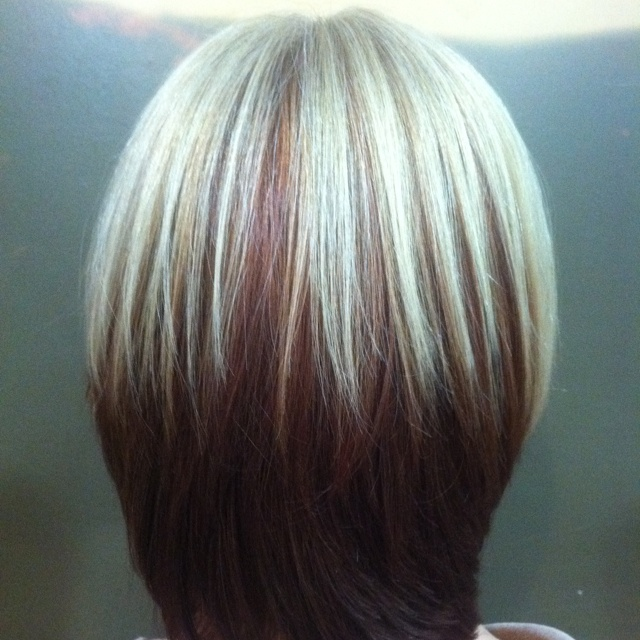 Square One Length Amp Triangular Layers Haircut Square