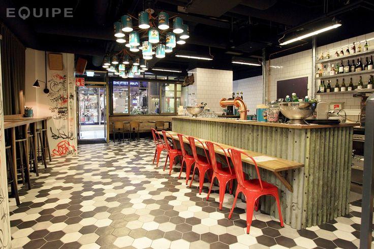 Midhill restaurant Equipe Hexatile 4