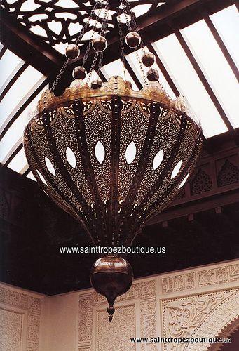 Moroccan Lighting: Moroccan Chandelier