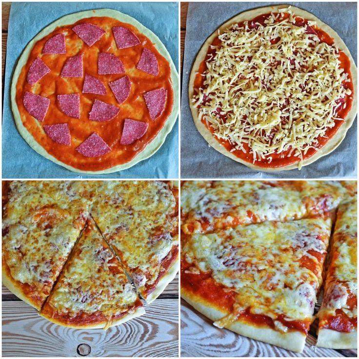 Lusta pizzatészta: 10 perc alatt, bögrésen