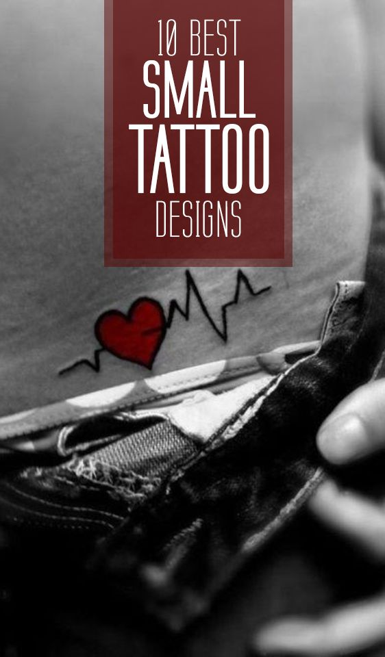 Not looking for big and bold tattoo scaling down half your back or limbs? Here are some small tattoo designs meant just for you then.