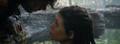 Sweet Kisses (kiss,couple,love,pirates of the caribbean,phillip,serena,mermaid,gif,hot)