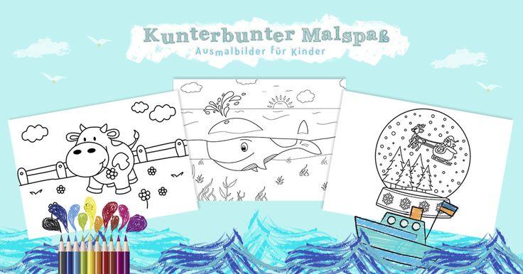 Kostenlose Malvorlagen für Kinder ab 2 Jahren ✐ Kreativität beim Malen entwickeln ✐ Hier Ausmalbilder für Kleinkinder ab 2 Jahren gratis ausdrucken