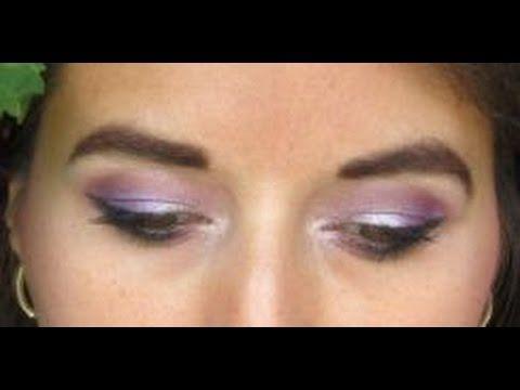 Soft pinkiepurple eye tutorial