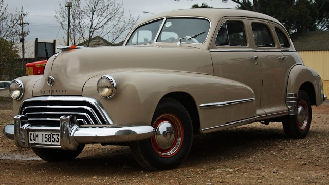 1947 Oldsmobile Series 66 Special 4 Door Sedan 1940s