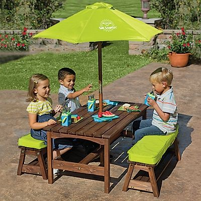1000 ideas about kids picnic on pinterest picnics kids - Children s picnic table with umbrella ...