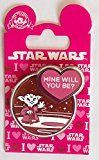 Get This Special Offer #9: Disney Pin 112528 Yoda Valentine - Mine Will You Be? Star Wars Pin