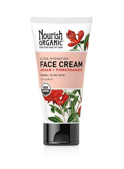 Ultra-Hydrating Organic Face Cream (Argan + Pomegranate) – Nourish Organic