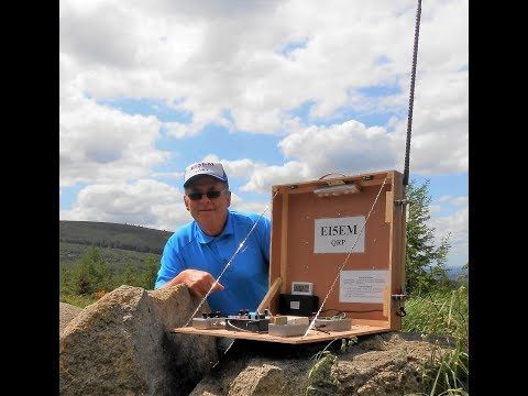 G4LJW Amateur Radio Videos: Portable QRP CW - All-In-One - by EI5EM