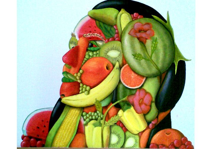 16 best images about Fruit Faces on Pinterest | 16th century ...