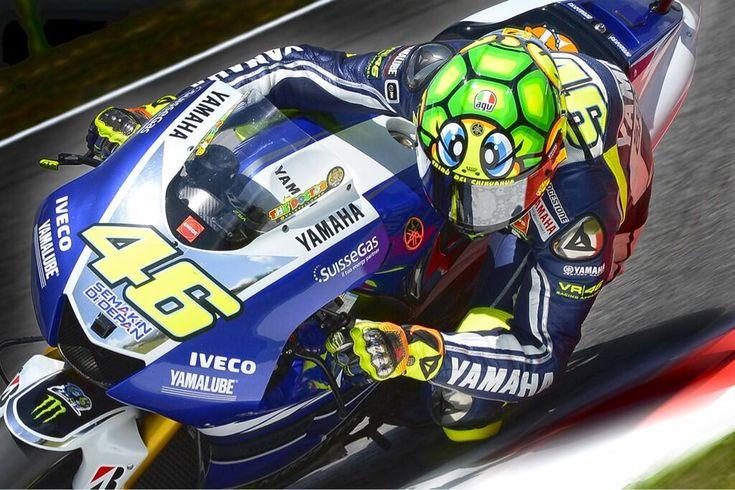Valentino Rossi, new Mugello Helmet