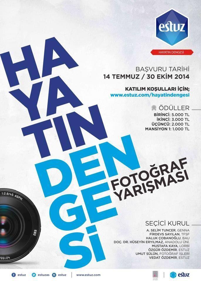 """Türkiye Fotoğraf Sanatı Federasyonu ile birlikte gerçekleştirdiğimiz """"HAYATIN DENGESİ"""" fotoğraf yarışması için başvurularınızı www.estuz.com adresinden yapabilirsiniz... #estuz #hayatındengesi #fotoğrafyarışması #yarışma #tuz #salt #saltofturkey #tfsf #ödül #ödüllüyarışma #parayarışması #denge #hayat"""