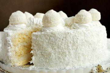 """Торт Рафаэлло является совершенным лакомством для всех любителей кокоса. Рецептов торта много, а наш торт Рафаэлло - рецепт, по которому торт удастся """"почти"""" как у Ferrero Rocher.   Что мне нравится …"""