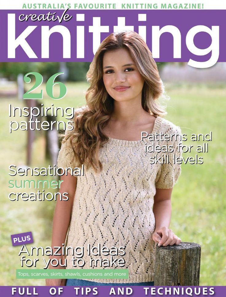 Creative Knitting  Issue 55 2016 - 轻描淡写 - 轻描淡写