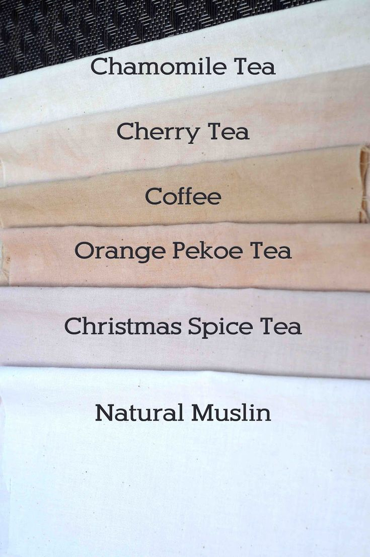 Project: Tea and Coffee Dyeing Fabric