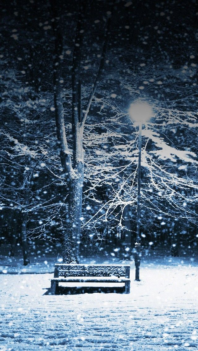 Lonely Christmas Snowing Park Ios 11 Iphone X Wallpaper Hd 4k Easy Halloween Costumes Halloween Costumes For Work Halloween Costumes You Can Make Christmas snow wallpaper 4k iphone