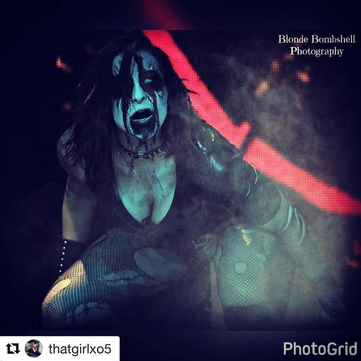 "354 Likes, 8 Comments - Rosemary (fka Courtney Rush) (@real.rosemary.tna) on Instagram: ""No words necessary.. @thatgirlxo5 captures the Demon perfectly.. #Repost @thatgirlxo5 with…"""