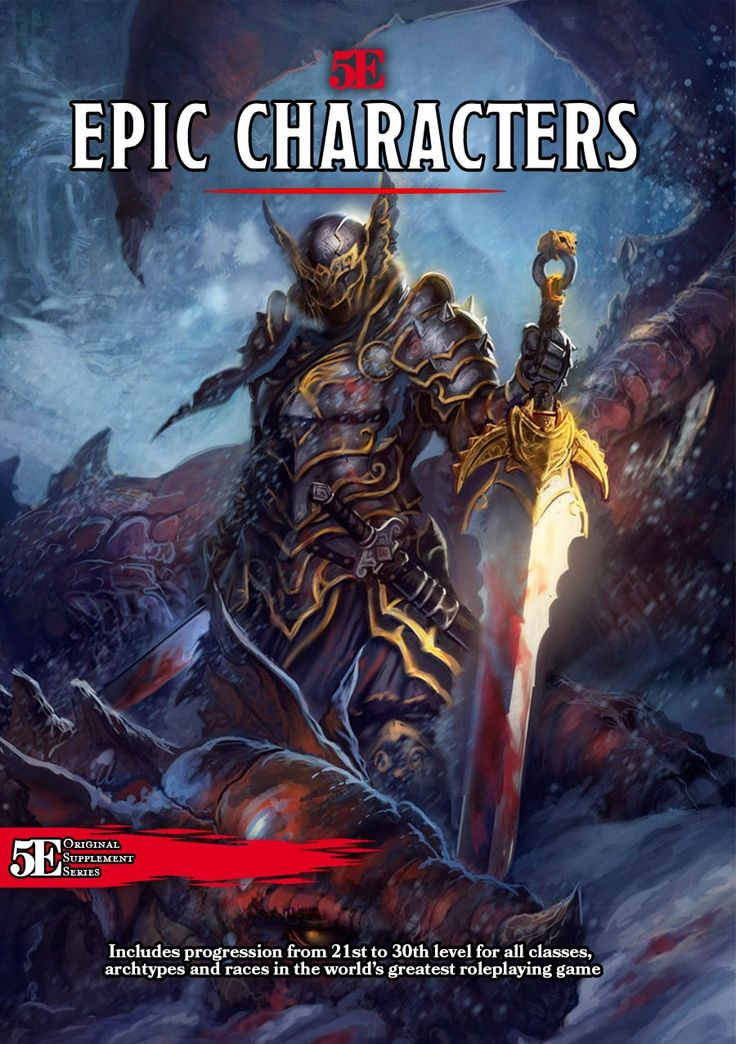 Epic Characters - Dungeon Masters Guild   Dungeon Masters Guild