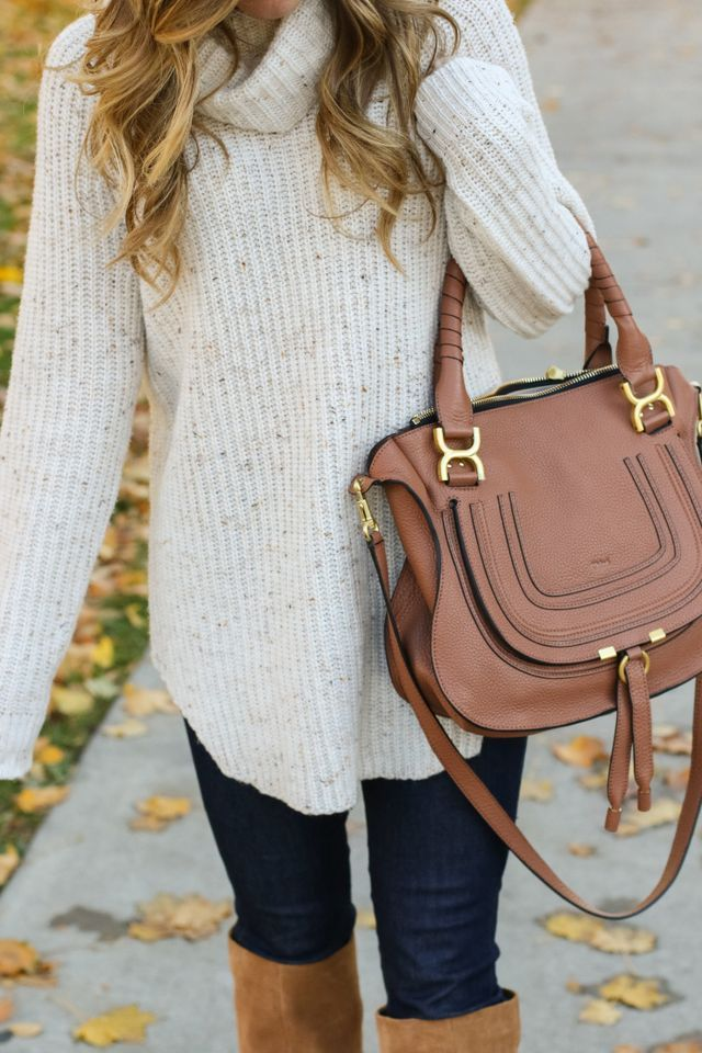 Cozy Cream Turtleneck