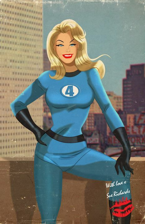Wickedly Cool 1940's Retro Superhero Pop Art -GeekTyrant