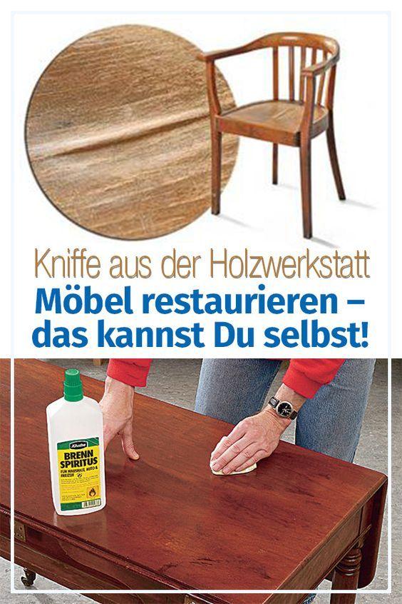 Möbel restaurieren   selbst.de in 2020   Möbel restaurieren, Restaurieren, Alte möbel