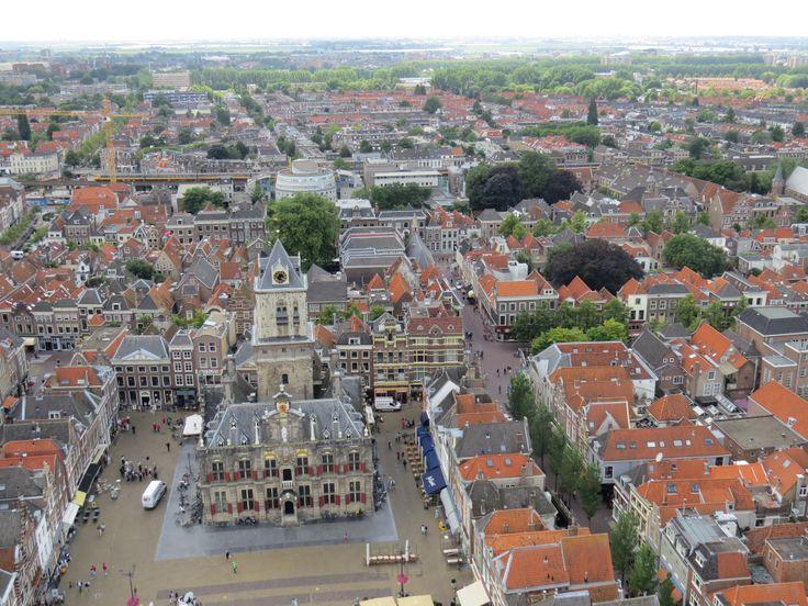 Delft | Holland  #delft #oldchurch #europe #netherlands
