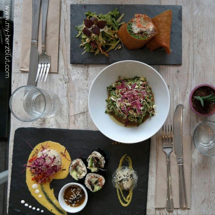 Das beste Raw-Food Restaurant in ganz London.