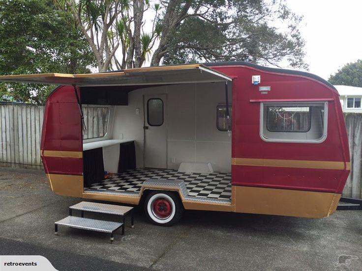 Retro Caravan with endless opportunites | Trade Me