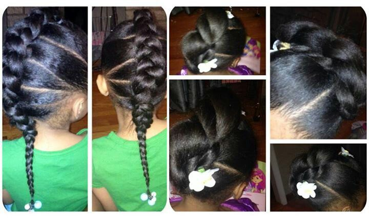 Baby Hair Styles Braids: 189 Best Baby Girl Braids Images On Pinterest