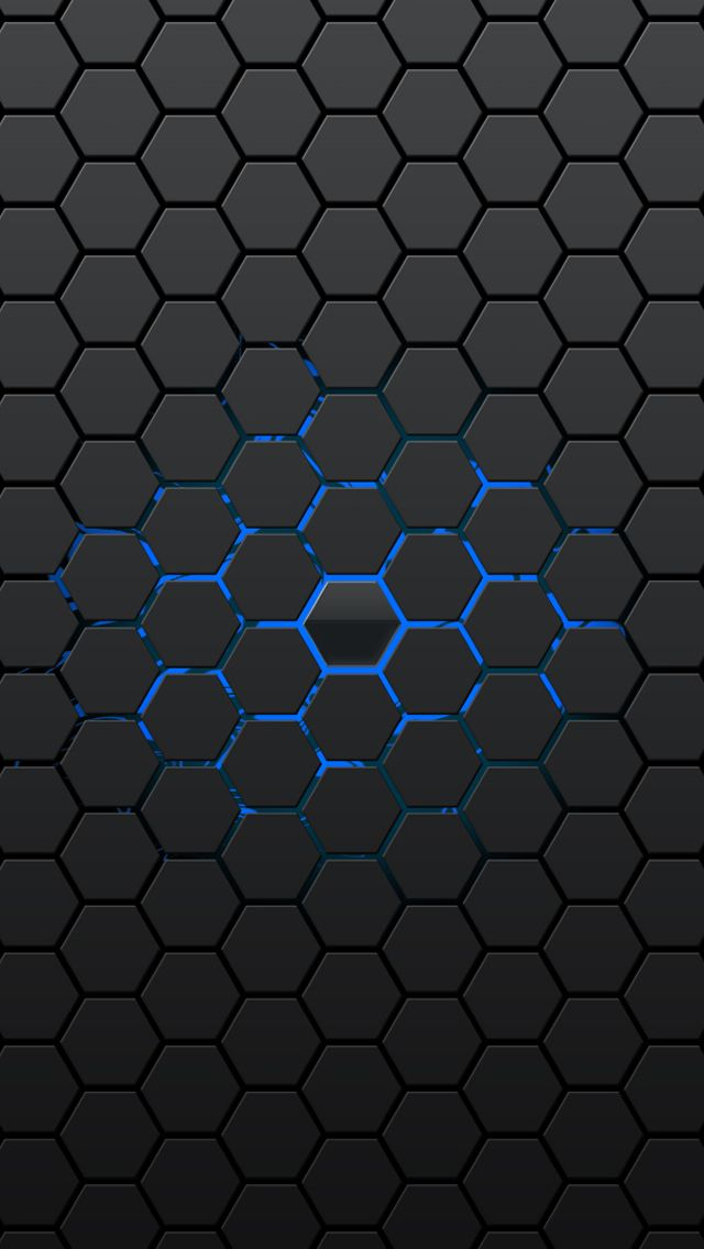 Honeycomb Pattern iPhone 5s wallpaper
