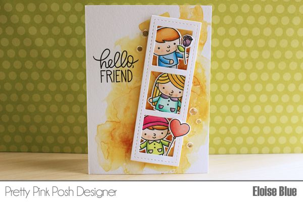 Pretty Pink Posh: One Stamp Set // Three Cards + Video