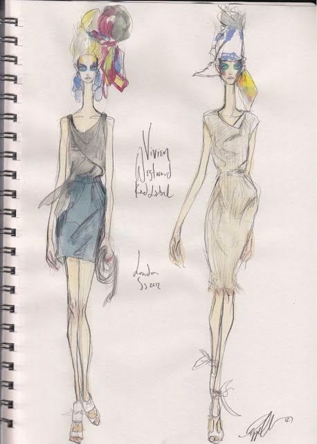 Sketch Show: Vivienne Westwood Red Label S/S 12 LONDON
