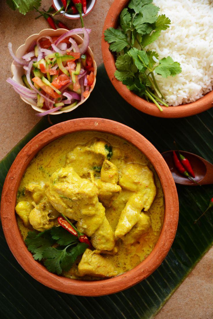 Cambodian (Khmer) Chicken Samlá Curry
