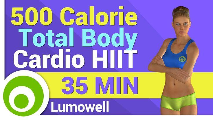 Esercizi HIIT per Bruciare 500 Calorie - Allenamento Total Body senza At...