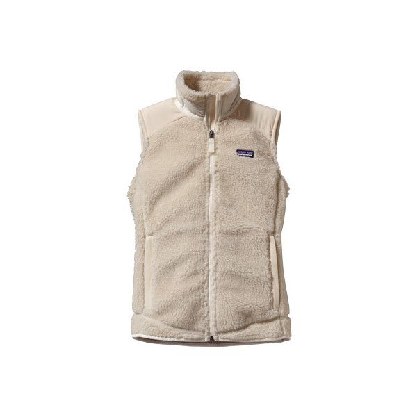 Women's Patagonia Retro-X Vest - Natural Vests ($130) ❤ liked on Polyvore featuring outerwear, vests, natural, quilted vest, patagonia vest, pink vest, vest waistcoat and pink quilted vest