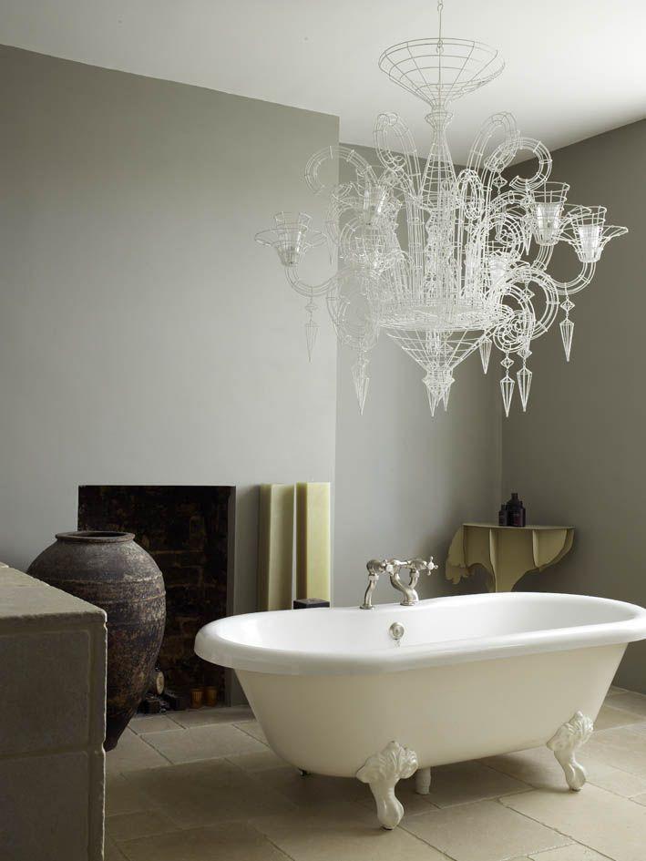 Modern Country Style: Designer Abigail Ahern's Bathroom ...