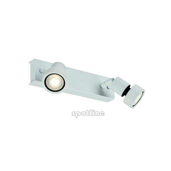 Kinkiet LAMPA ścienna PURI 2 147371 Spotline plafon OPRAWA sufitowa biały