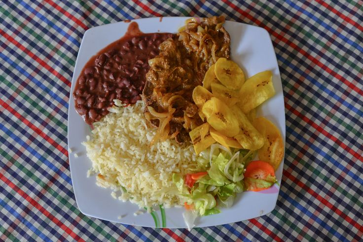 Around the world in 50 dishes Gallo pinto (Costa Rica) A traditional gallo pinto is made with rice and beans.