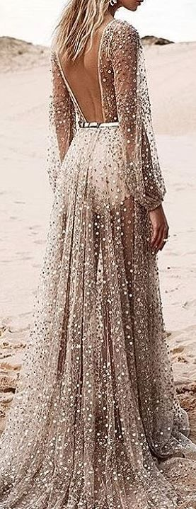 boho weeding dress
