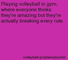 volleyball player problems - Google Search PE is exactly like this it kinda sucks @Alexis Sandman @Jetta @Katlyn Miller @Annika Novotny
